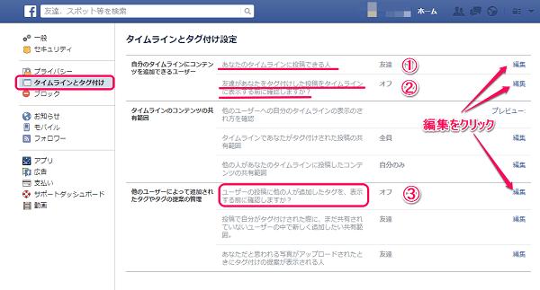 Facebookタグ付け3