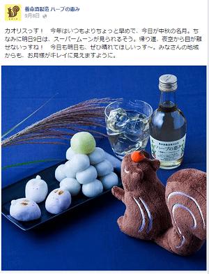FireShot Screen Capture #047 - '養命酒製造 ハーブの恵み' - www_facebook_com_herb_megumi