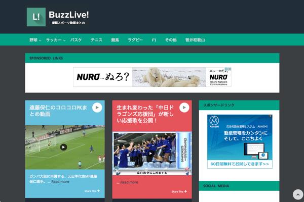 BuzzLive___バズライブ__-_野球、サッカー動画